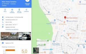 come apparire su google maps esempio